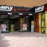 SIMPLY supermercados alcanzó una cifra de ventas de 1.095 M€ en 2014